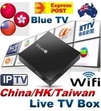 2017 Latest BlueTV Internet Live Streaming TV Box Wifi 1080p IPTV TV BOX 全球適用 美加歐洲澳洲華僑適用