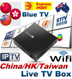 NEW BlueTV Internet Live Streaming TV Box Wifi 1080p IPTV TV BOX Free AU Post 2-3 Days Ship