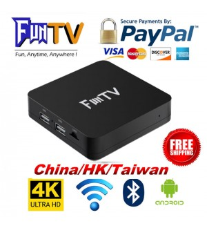 2019 New FUNTV TVBox Unblock CN/HK/Taiwan/VN Channel HTV5 A1 A2 中港台/越南直播点播