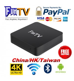 2018 FUNTV TVBox Unblock Chinese/HK/Taiwan Channel HTV A1 A2 中港台日韓美劇