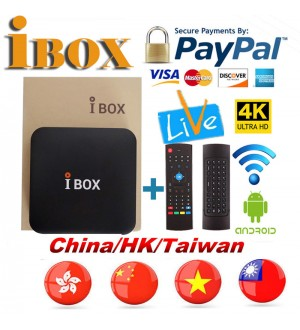 2019 Newest IBOX HD TV Box Chinese HK Taiwan Live TV VOD Bluetooth FUNTV Unblock A3